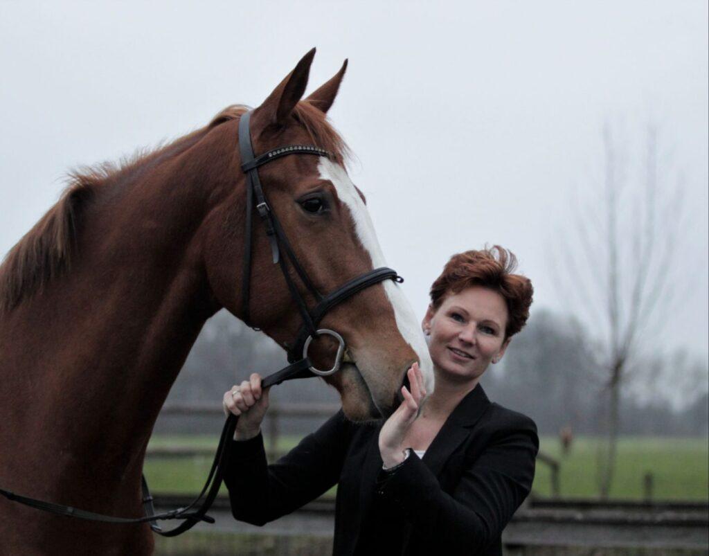 Gina met paard